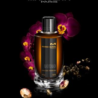 Black to black perfume