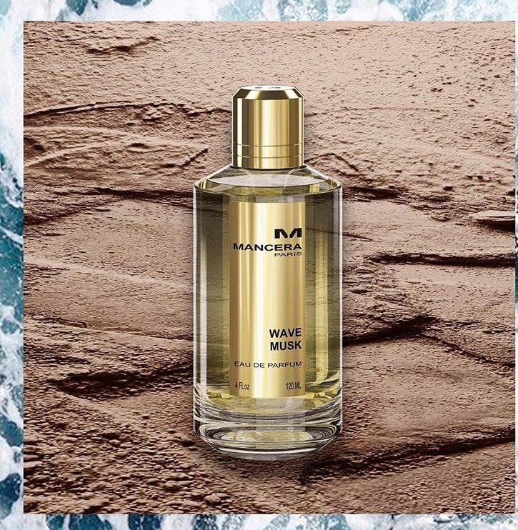 Fresh musk perfume