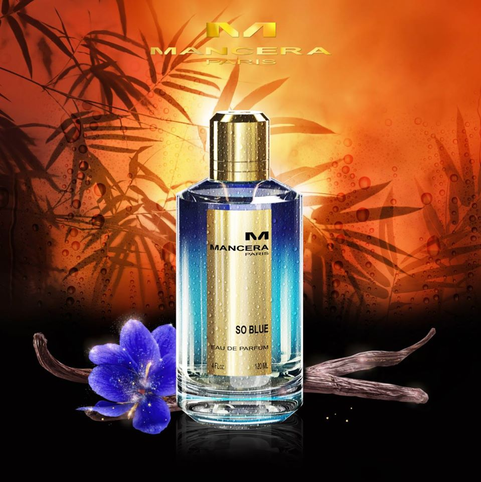 So blue Perfume of mancera Paris