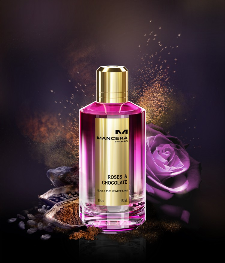 Roses and chocolate perfume