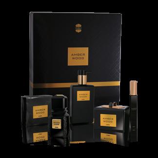 Ajmal amber wood gift set